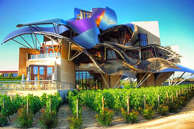 Marque de Riscal winery